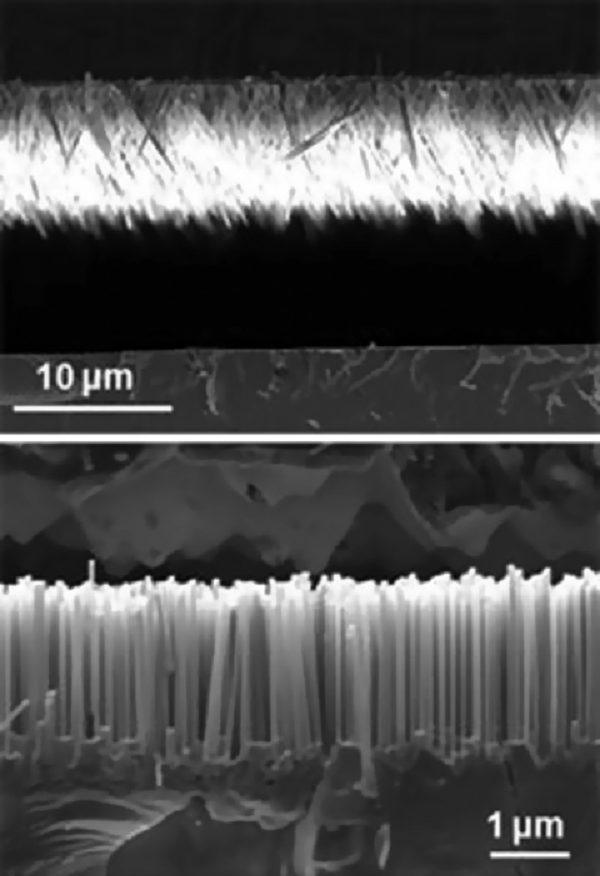 Гибридный вибрационный наногенератор, скомбинированный с солнечной ячейкой