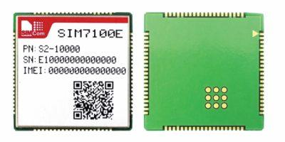 Внешний вид модуля SIM7100E