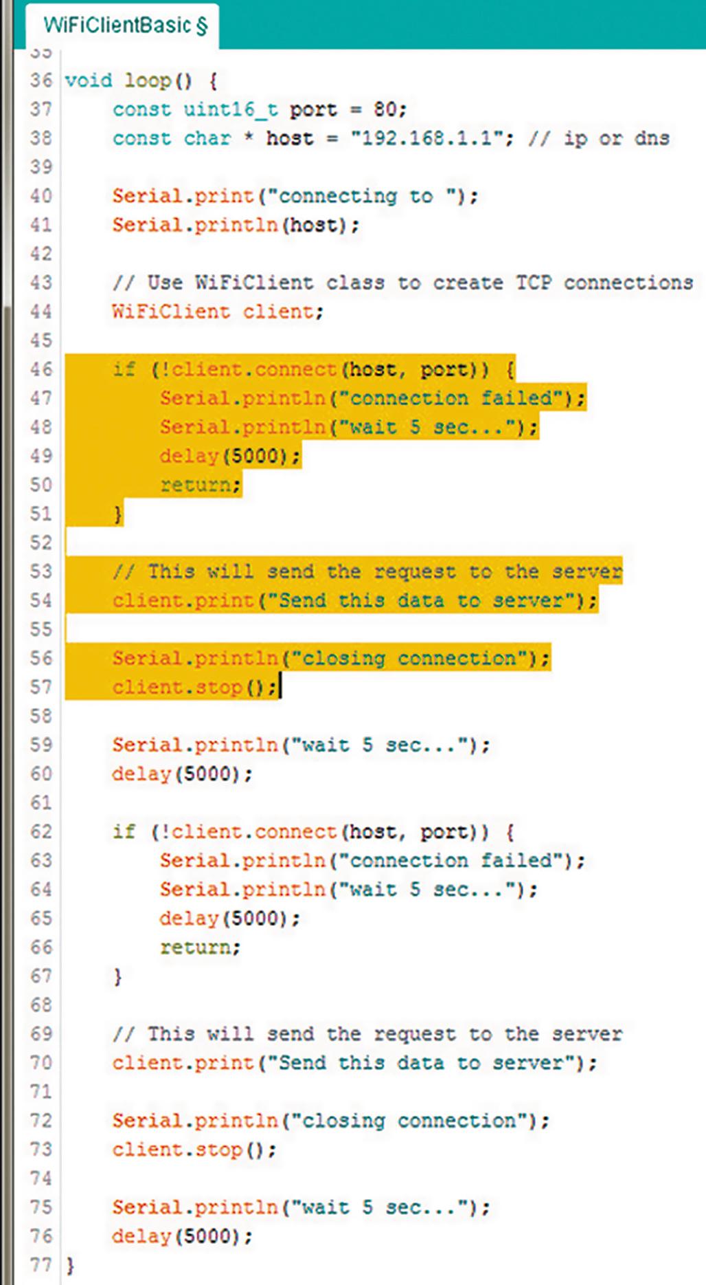 Модифицированная функция loop