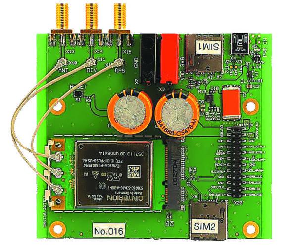 Gemalto LTE Modem Card Adapter Board