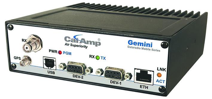 Внешний вид бортового радиомодема GeminiG3