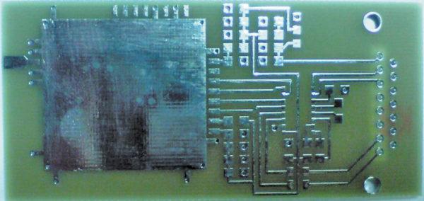 Внешний вид печатной платы навигационного модуля ГеоС-1М