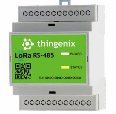 Внешний вид шлюза RS-485 LoRaWAN thingenix