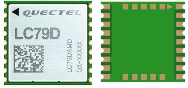 Высокоточный GPS-модуль Quectel LC79D
