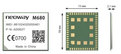 Ультракомпактный GSM-модуль Neoway M680