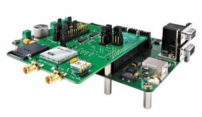 Отладочный набор EVK M2M Air с установленным мезонином GE866-QUAD