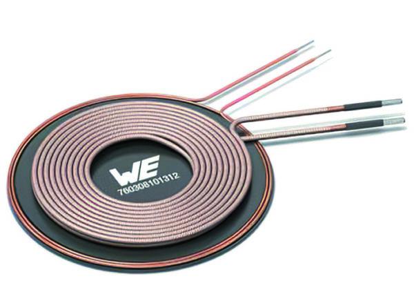 Катушка типа D системы WPT/NFC, предлагаемая компанией Würth Elektronik