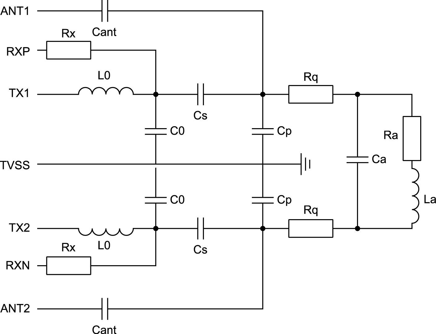 Расширенная схема фильтра ЭМП и соответствующая согласующая схема для режима эмуляции карты для режима чтения/записи в системе WPT/NFC