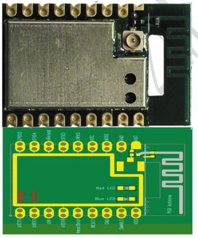 Внешний вид и назначение выводов модуля А6501