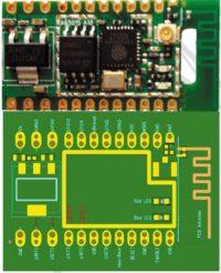Рис. 3. Внешний вид и назначение выводов модуля А6501S