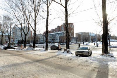 Точка 2 — перекресток ул. Мира и 9 Мая