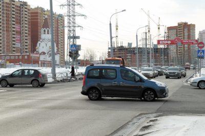 Точка 4 — перекресток ул. Чкалова и бульвара Гагарина