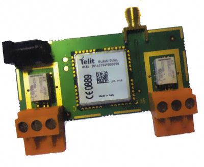 Макет устройства дистанционного управления на базе Telit GL865/868
