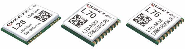 Навигационные модули от компании Quectel