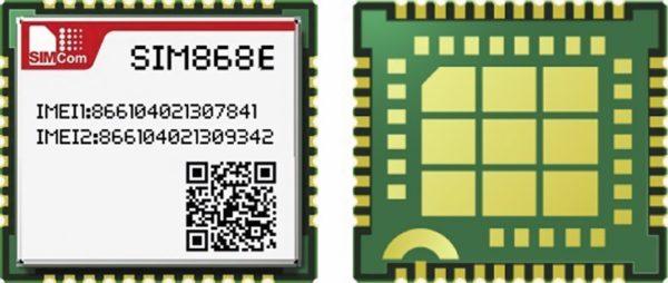 GSM/GPRS+GNSS-модуль SIM868E