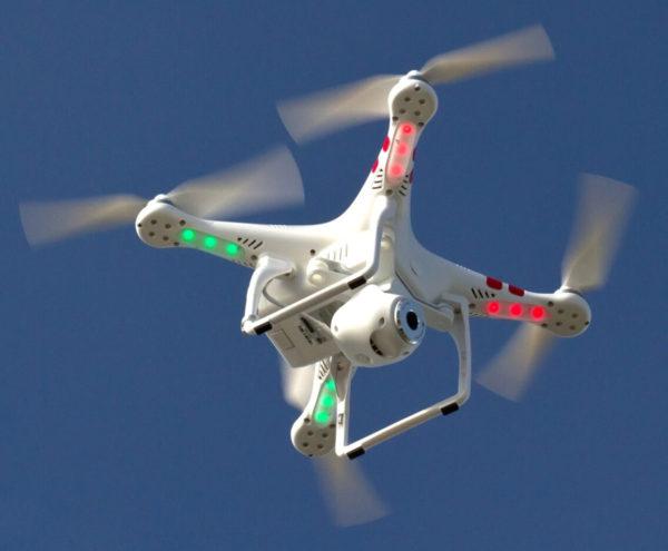 Беспилотный летательный аппарат с видеокамерой высокого разрешения [5]