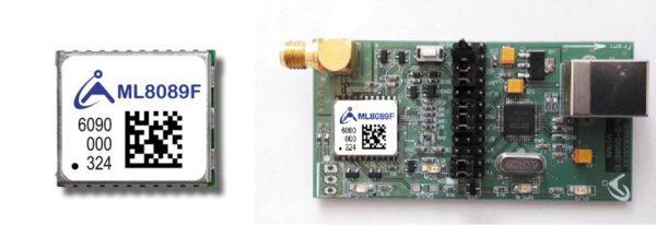 Модуль NAVIA ML8089F-CP 13×15 мм и отладочная плата NAVIA ML8089F-CP-DEMO