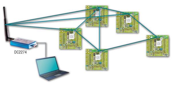Организация сети SmartMesh IP с использованием стартового набора