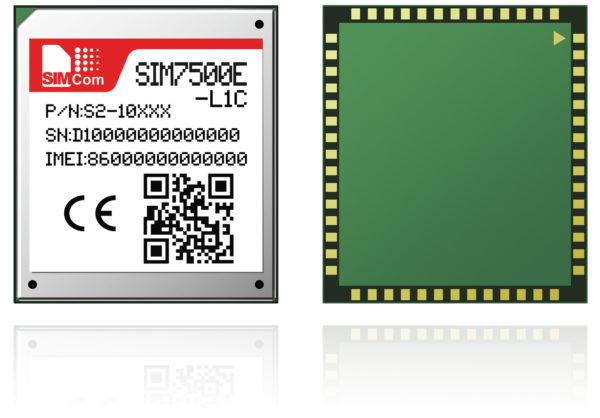 LTE-модуль сотовой связи SIM7500E-L1C