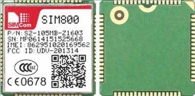 GSM/GPRS-модуль SIM800