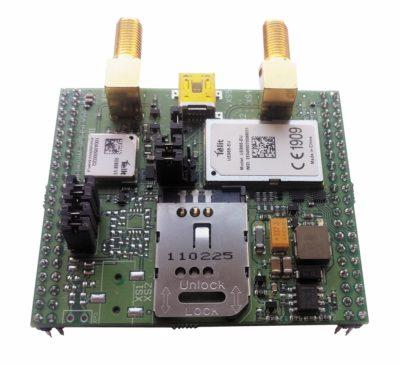 Отладочная плата Telit UE866-EU + SE868V3 bundle
