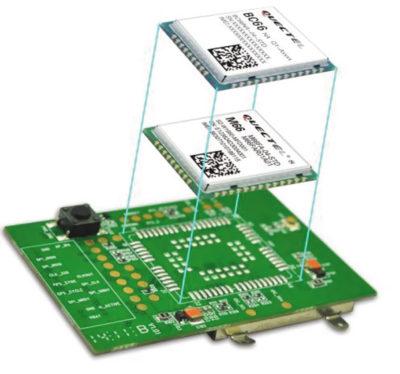 Модуль BC66 совместим по контактным площадкам с GSM/GPRS-модулем M66