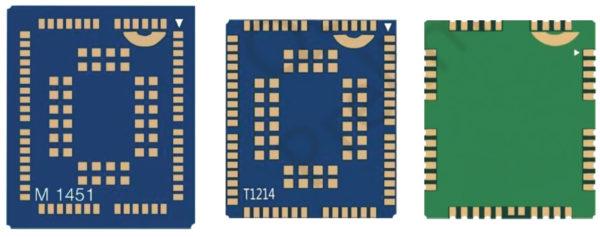 Конструктив «102-pin LGA» дает возможность взаимной замены для модулей: BG96, UG96, M95