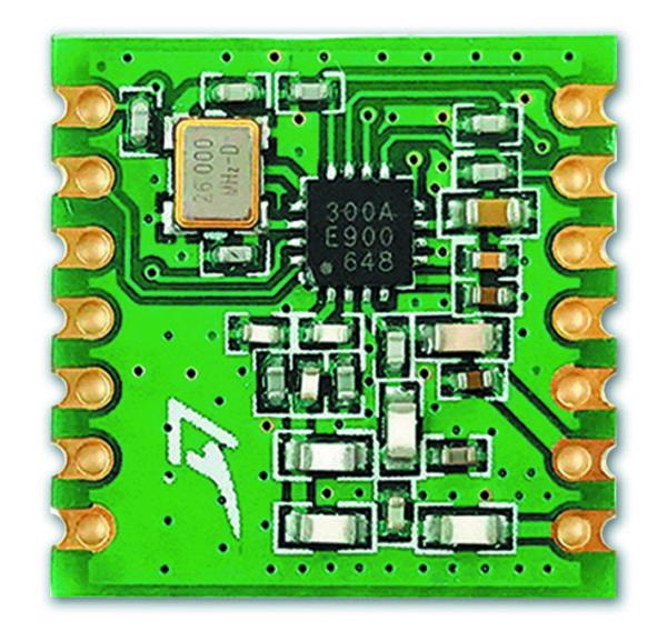 Модуль RFM300 на базе трансивера CMT2300A с цепями обвязки