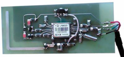 Печатная плата НП GPS-сигналов на основе LR9023