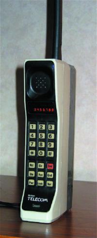 Первый сотовый телефон DynaTAC-8000X
