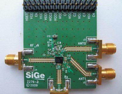 Тестовая плата для микросборки SE2621L