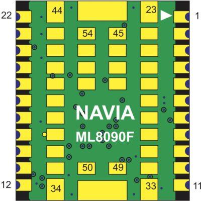 Блок-схема STA8090FG