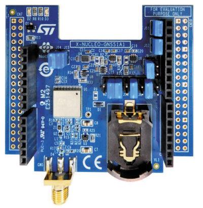 Внешний вид отладочной платы STM32 Nucleo boards