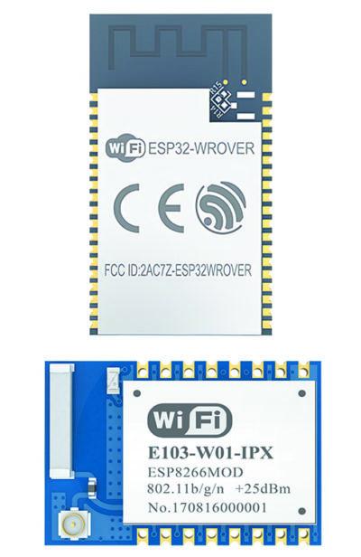 Типовые конструкции модулей Wi-Fi компании EBYTE с разными типами интерфейсов