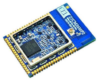 Радиомодуль MeshConnect, выполненный на базе микросхем ZIC2410