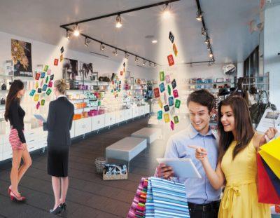 Возможности Li-Fi в супермаркете