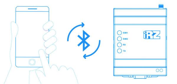 Взаимодействие с модемами осуществляется через Bluetooth