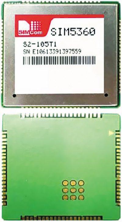 Комбинированный 3G+GPS/ГЛОНАСС-модуль SIM5360E
