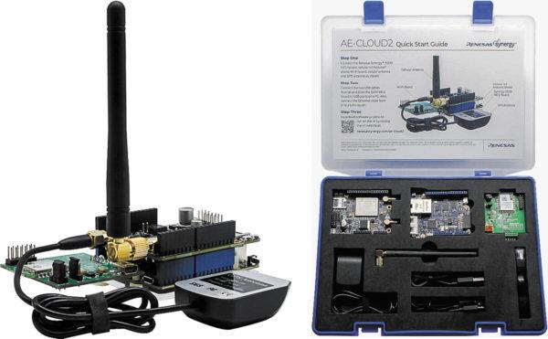Комплект AE-CLOUD2, разработанный и предлагаемый компанией Renesas