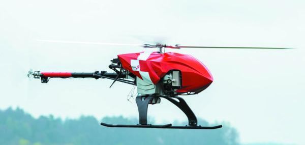 Спасательно-поисковый дрон швейцарской авиационно-спасательной организации Rega, самостоятельно ищущий людей