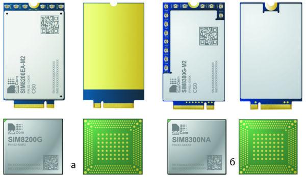 Линейка 5G-модулей SIMCom Wireless Solutions