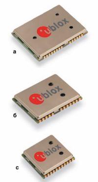 GPS/ГЛОНАСС-модули от компании u-blox