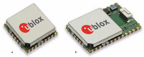 GPS/ГЛОНАСС-модули от u-blox: IT530M и UC530M