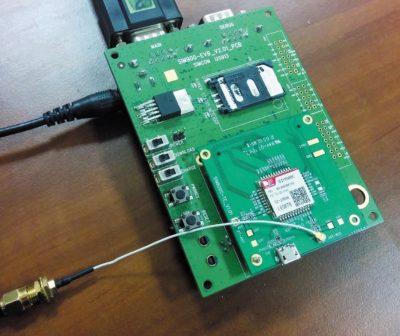 Отладочная плата SIM900-EVB и мезонинная плата SIM800C-TE