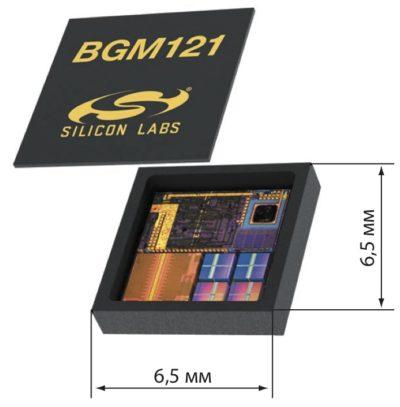 Миниатюрный Bluetooth-модуль BGM121 со встроенной антенной
