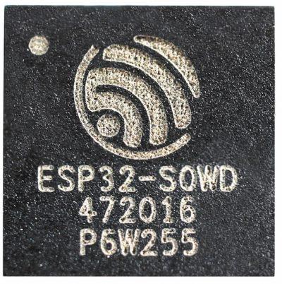 Пример маркировки на корпусе чипа серии ESP32