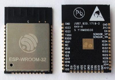 Внешний вид модуля ESP-WROOM-32