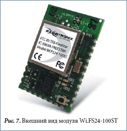 Внешний вид модуля Wi.FS24-100ST