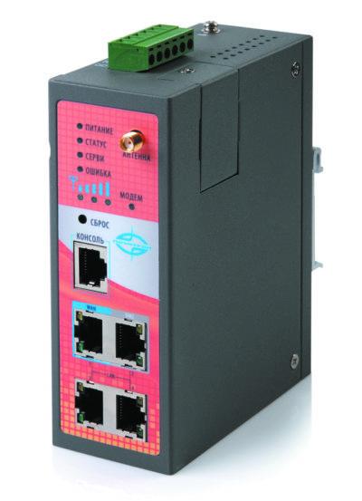 Промышленный 3G-маршрутизатор «Позитрон XR» с четырьмя Ethernet-портами
