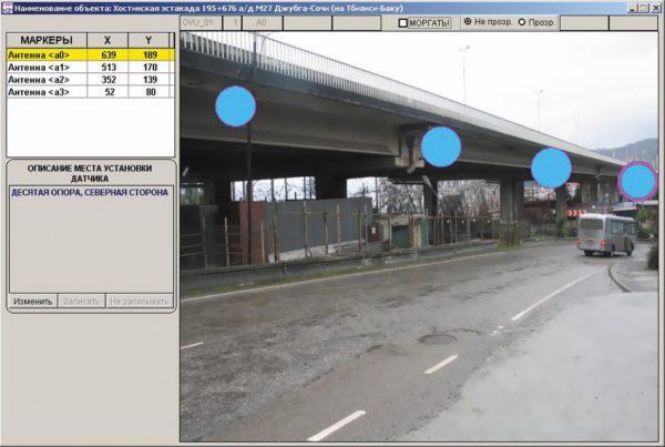 Пример представления основной информации на экране диспетчера